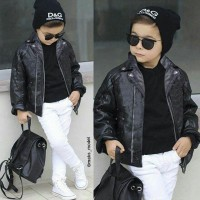Jaket Anak / Sweater Anak Heiya Kids Black