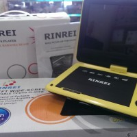 PORTABLE TV / DVD PLAYER RINREI 9' WIDE SCREEN