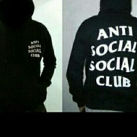 JAKET ZIPER JUMPER ANTI SOCIAL CLUB