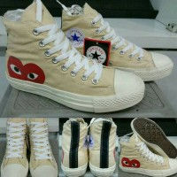 Converse All Star Chuck Taylor Play CDG High white