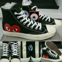 Converse All Star Chuck Taylor Play CDG High black white