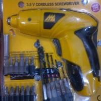 Bor Mini Obeng Charger 3.6 Volt / Cordless Skrewdriver Mcculloch