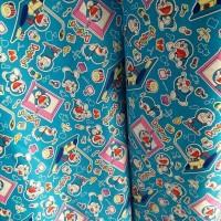 harga Kain Sprei Katun Meteran Star Doraemon Tokopedia.com
