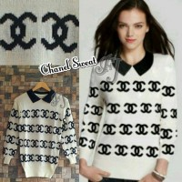 Jaket dan Sweater Wanita Murah Chanel Sweat