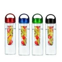 Jual Tritan infuse water (pakai karet)/botol minum+tempat buah Murah