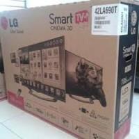 LG 42 inch Full HD LED TV Silver 42LF550A - Garansi Resmi