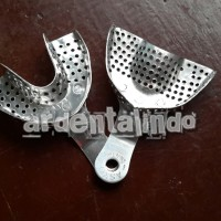 sendok cetak bahan aluminium per pasang atas bawah