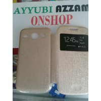 Flip Cover UME Samsung GALAXY V plus ACE 4 G313 Sarung Hp Leather Case
