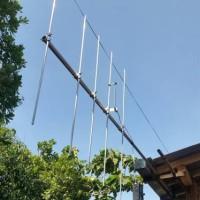 Antena YAGI Gamma Match 5 ELemen 2 Meter Band