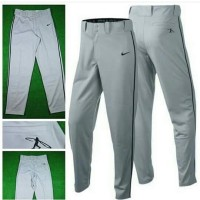harga celana baseball / softball murah nike original warna abu list hitam Tokopedia.com