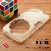 Softcase Back Slim Jelly TPU Soft Case Casing Samsung Galaxy K Zoom