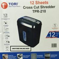 TORI TPR-210 - MESIN PENGHANCUR POTONG KERTAS/PAPER SHREDDER