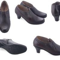 6609GF,sepatu kulit asli cibaduyut formal/kerja/pesta wanita/perempuan