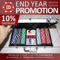 harga [DISC 10%] 300 Chip Poker Set Tokopedia.com