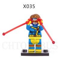 Lego Minifigure X-Men Cyclops Bootleg