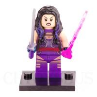 Lego Minifigure X-Men Psylocke Bootleg