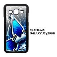 Kingdom Hearts Aqua Wayfinder Z0357 Casing Samsung Galaxy J3 2016 Cust