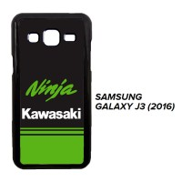 Kawasaki Ninja X3439 Casing Samsung Galaxy J3 2016 Custom Case Cover