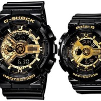 Jam G Shock Baby-G Couple Sports Series Ga-110GB-1a Ba-110-1a G-pair