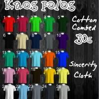 Jual Kaos Polos Bahan Asli Cotton Combed 30s Size XL Bandung Murah