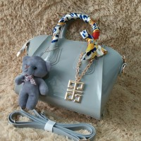 Givenchy Antigona Mini Jelly - Grey
