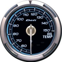 Defi C2 - OIL TEMP Gauge Blue Face