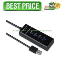 harga High Speed 4 Ports USB HUB 3.0 Adapter 5Gbps for Laptop PC - Notebook Tokopedia.com