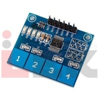 TTP224 4-Channel Touch Sensor