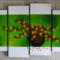 Jual Dekorasi Dinding Lukisan Bunga Dalam Pasu Minimalis Kota Denpasar Karya Suroso Tokopedia