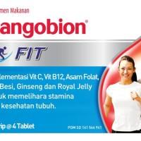 Sangobion Fit 4tablet/ strip Multivitamin Zat Besi Tambah darah