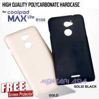 HARDCASE for Coolpad MAX LITE R108: High Quality Polycarbonate FREE SP