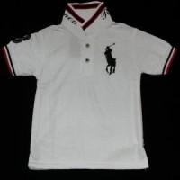 Jual Kaos Anak Polo Putih Bahan Lacoste Halus. Murah