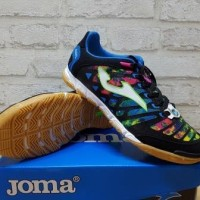 Sepatu Futsal Joma Super Regate Black Multi Color SREGW.601.IN Origina