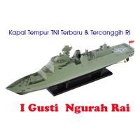 Jual Hobi Militer Kapal Perang PKR Sigma 10514 KRI I Gusti Ngurah Rai 60cm. Murah