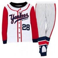 Baju tidur anak laki-laki/Piyama Boy GAP Hongkong Yankees 28