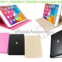 iPad mini 1/2/3 Book Cover Gold Logo Case