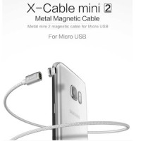 Jual WSKEN X-Cable Mini 2 Magnetic Charging Cable Micro USB Kabel Data Murah