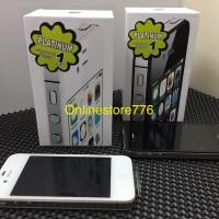 IPHONE 4S 32 GB BLACK / WHITE GARANSI DISTRIBUTOR 1 TAHUN
