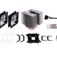 ID-COOLING CPU COOLER SE-904 TWIN
