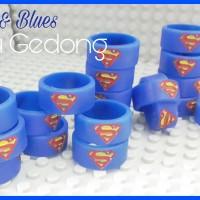 Jual Vapeband Embossed Superhero | Vape band superman Murah