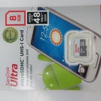 Memory Card Sandisk Ultra 8GB UHS MicroSD 48mb / S