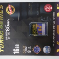Memory V-GEN TURBO SERIES 16GB SD CARD