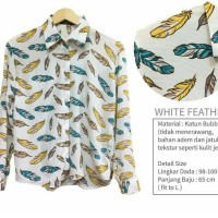 KODE : PB WHITE FEATHER