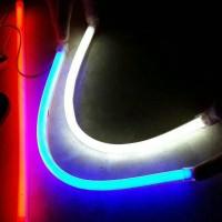 LED DRL Flexible 60CM Lampu Alis neon Motor Mobil Warna Warni MURAH!!