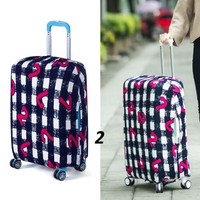 Jual Elastic Luggage Cover/ Sarung Pelindung Koper Elastis 22