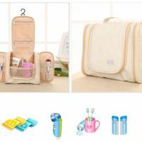 Jual Travel Organizer Toiletries Bag/ Tas Travel Serbaguna Murah