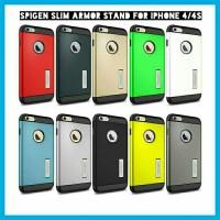 Spigen Slim armor Iphone 4/4s Hardcase case flip cover