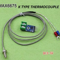 K Type High Temperature Thermocouple Sensor Max6675 For Arduino
