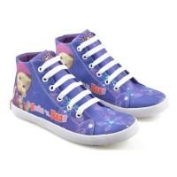 Sepatu Sekolah/Sepatu Anak Perempuan Gambar Marsha & Bear CNC 403