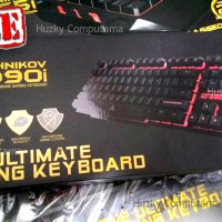 ARMAGEDDON AK-990i - Profesional Gaming Keyboard. 3 Backlight Color
